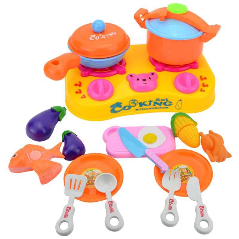 Großhandel 3 Sätze Umwelt Diy Kinder Spielhaus Spielzeug Küche ...