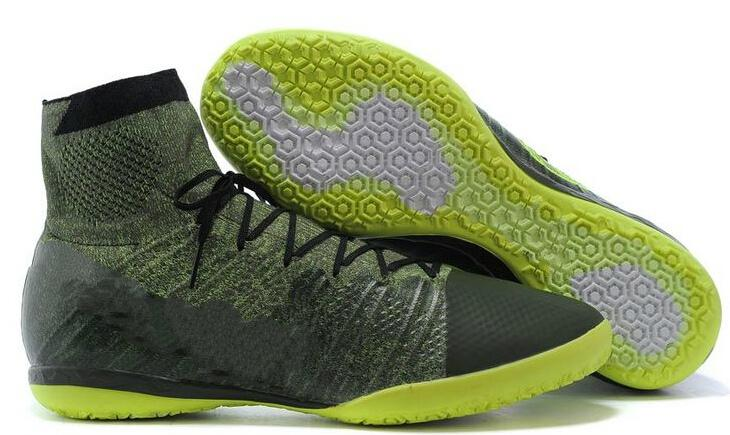 2cc4a075b931 2019 2015 New Discount Elastico Superfly IC Green Soccer Shoes For ...