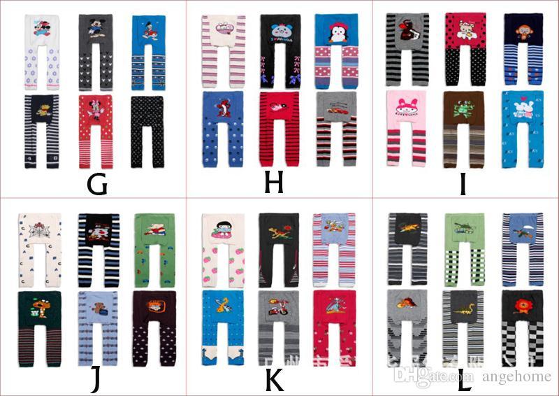 Sıcak satış 18 adet / grup bebek busha pp pantolon pp isıtıcı çocuklar pantolon çocuk tayt çocuklar pp pantolon Tayt 72 renkler Ücretsiz Shiping