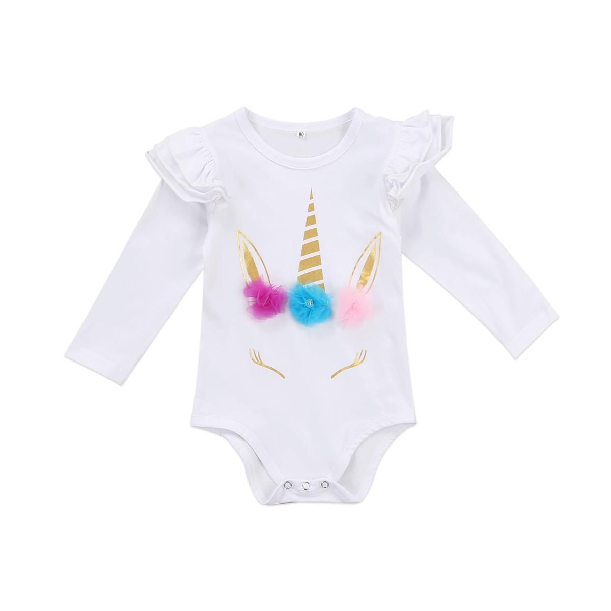 Newborn Baby Romper Suit Toddler Overall Girls Leotards Kids Boutique Clothing Infant Jumpsuit Kid Bodysuit