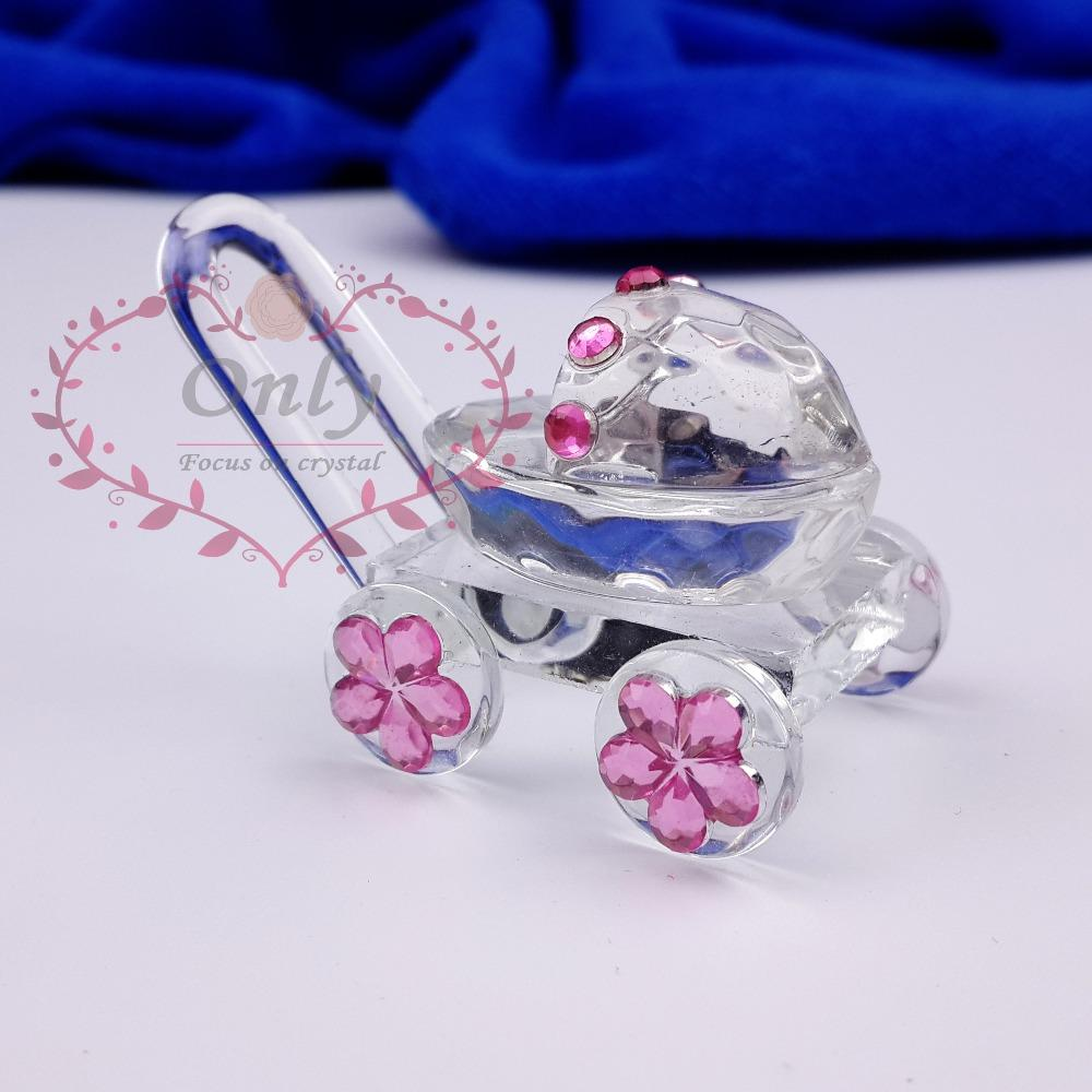 Wholesale 30pcs Lot Cute Crystal Glass Baby