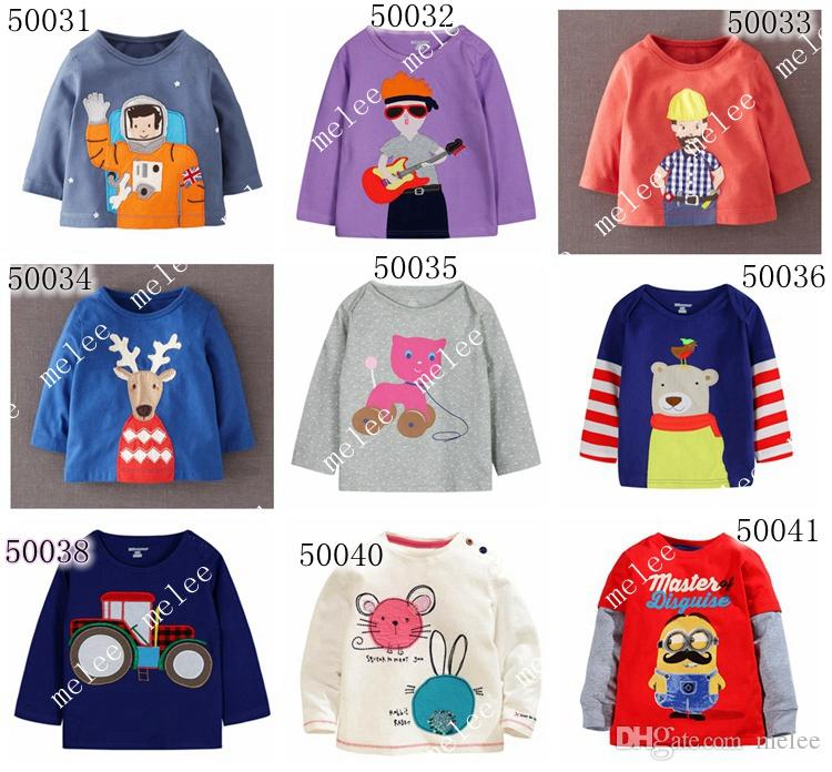 2017 2016 Little Maven Baby Long Sleeve Christmas T Shirt Boys ...