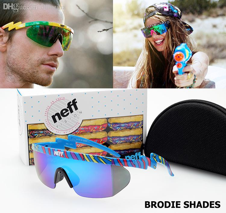 ae6fe97d5e1 Wholesale 2016 New Fashion NEFF Brand BRODIE SHADES Sunglasses Outdoor  Sports Street Style Cool Sun Glasses Lense Oculos De Sol Prescription  Sunglasses ...