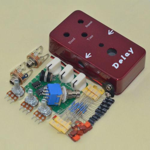 Build your own DIY Warm Analog sounding Delay Effect pedal >>>COMPLETE KIT<<<