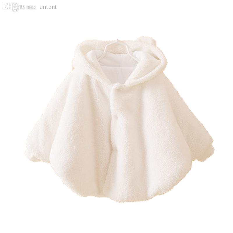 070b8902e Wholesale Newborn Baby Girl Jacket Baby Winter Clothes Warm Flannel ...