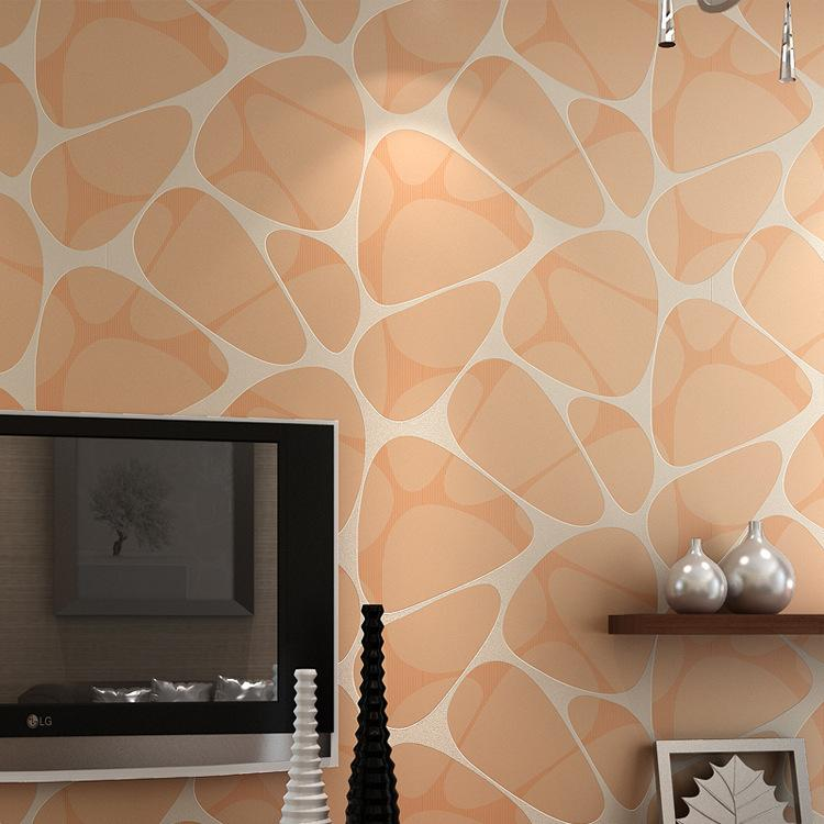 3d Stone Wallpaper For Walls Purple Creamy White Wall Paper For