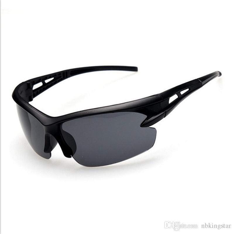 12 pçs / lote óculos de visão noturna óculos de sol condução graced óculos moda esporte dos homens de condução óculos de sol uv proteção 4 cores
