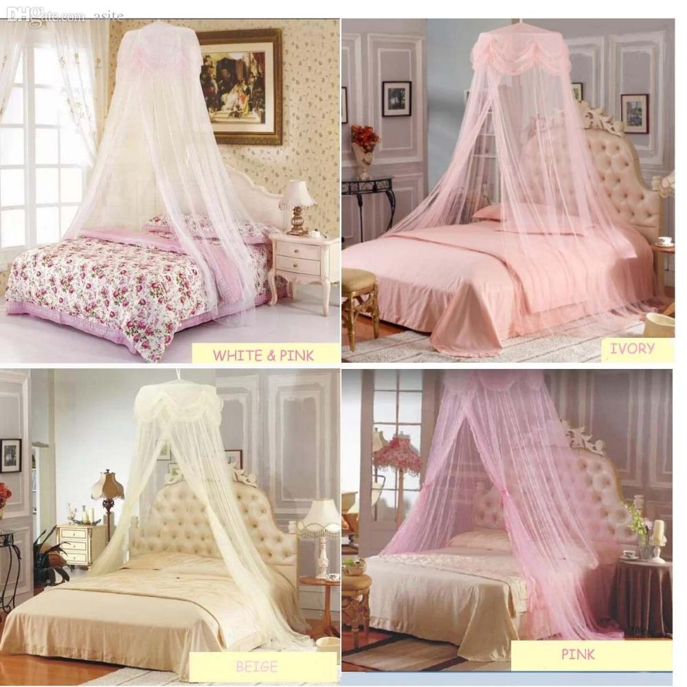 Wholesale Princess Lace Mosquito Canopy Bites Protect For Twin