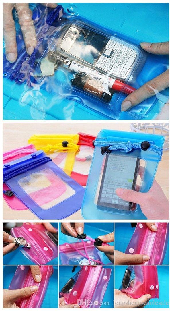 Wholesale Waterproof Camera Pouch Dry Case Bag Ski Beach For Camera Mobile Phone Waterproof Bag