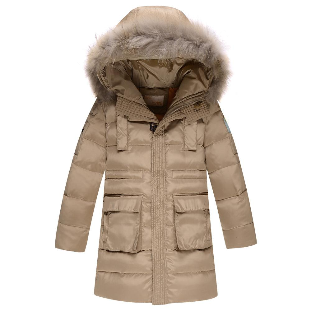 2015 Winter New Uk Style Kids Winter Coat Hooded High Quality Boys ...