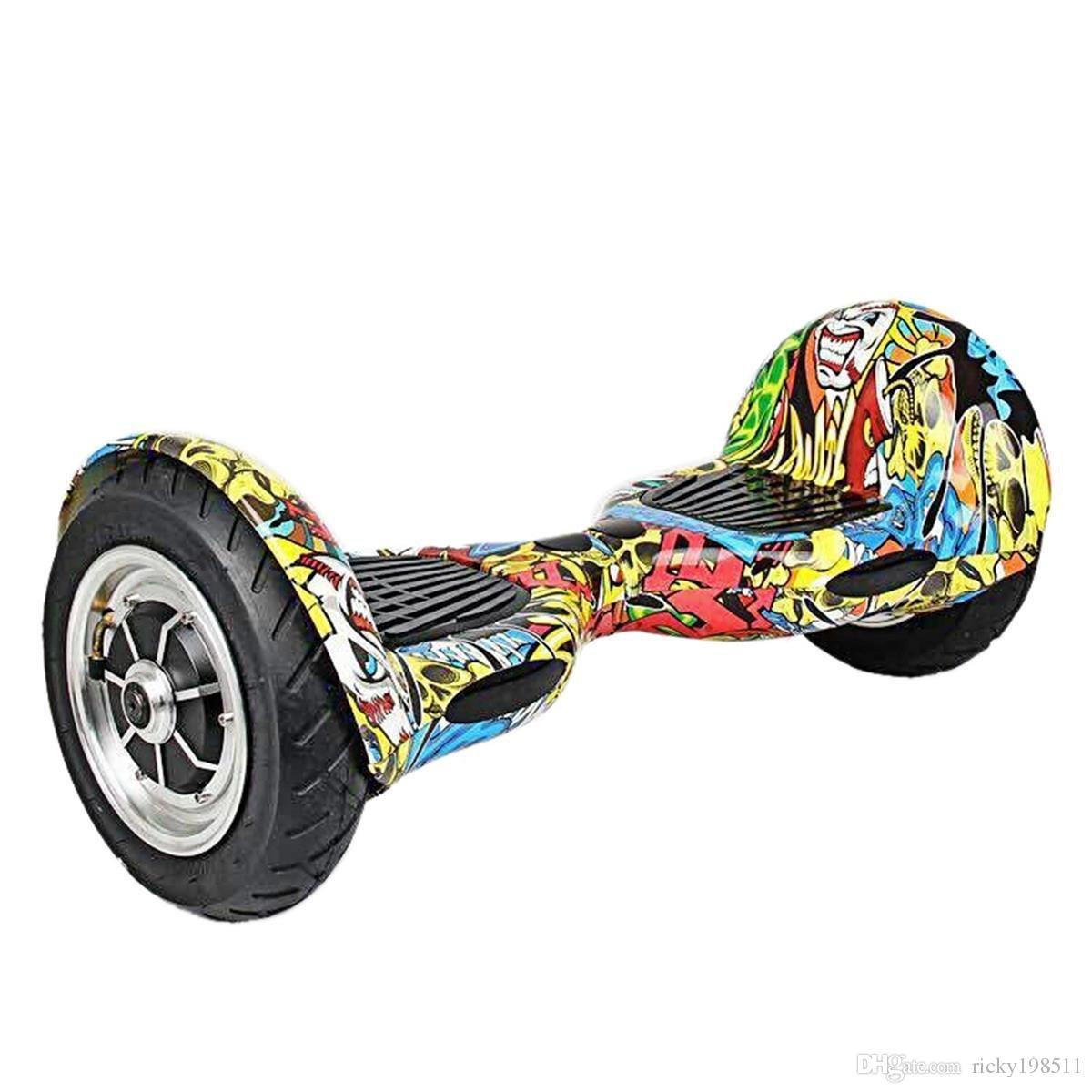 10 pouces grand pneu mini auto équilibré intelligent scooter deux roues auto intelligent équilibrage dérive conseil dérive électrique scooter