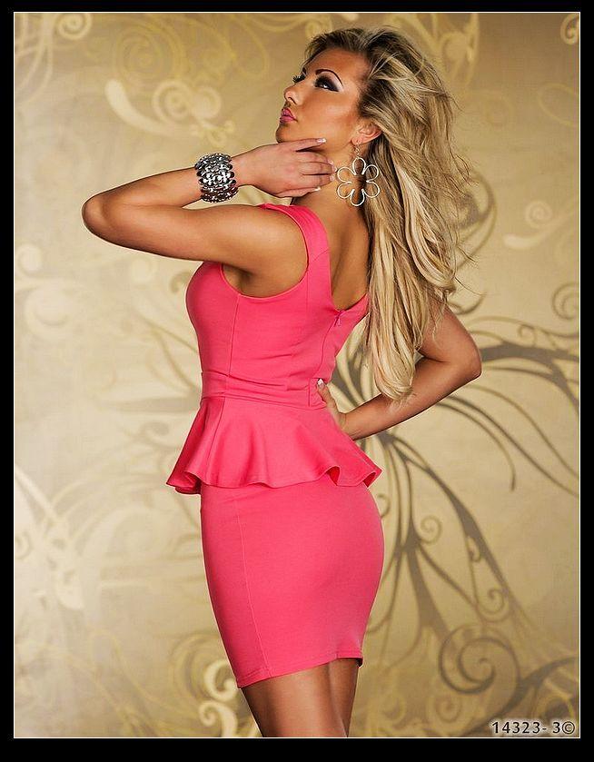 白い黒のピンクのポリエステル繊維セクシーなランジェリー、サイズm l xxl女性なしスリーブミニドレス、ディナージャケット