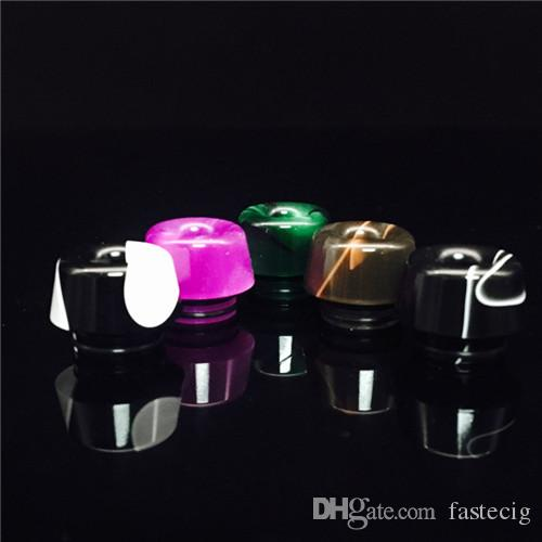 Newest TFV12 mouthpiece Acrylic based resin drip tips Mushroom Wide Bore drip tips for TFV8 TfV12 Tank with Retail Package DHL free Ship