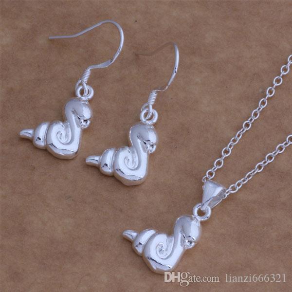 Envío gratis con número de seguimiento New Fashion Women's Charming Jewelry 925 Silver 12 Mix Jewelry Set 1450