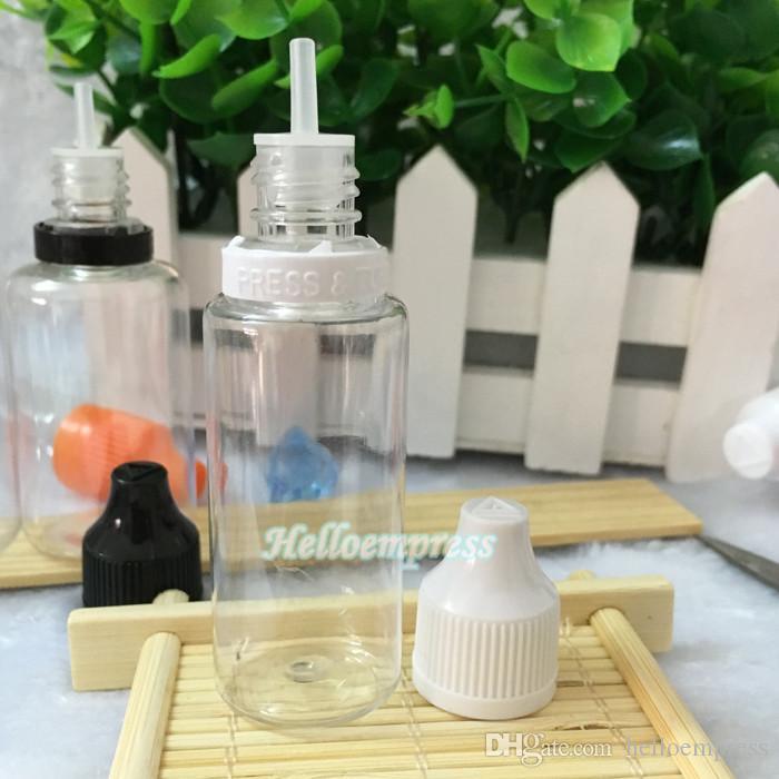 2017 뜨거운 판매 20ml 플라스틱 에센셜 오일 dropper 병 20 ml eliquid 빈 병 childproof 및 변조 방지 모자