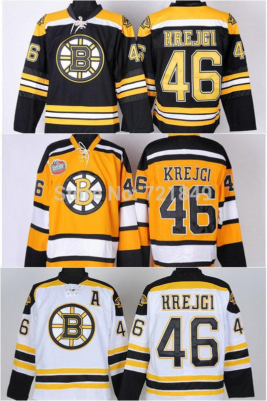 Factory Wholesale Price!!!Ice Hockey Boston Bruins 46 David Krejci ... 18cae42c5