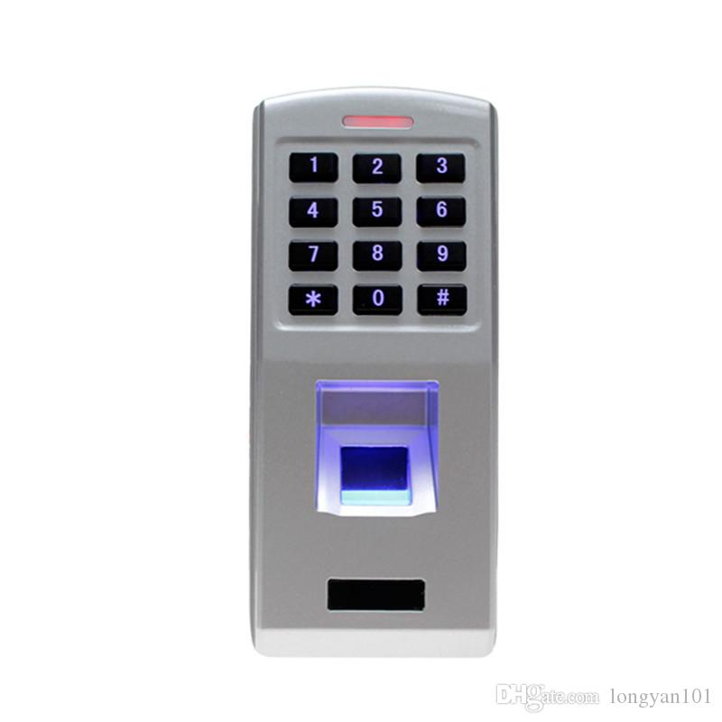Waterproof Led Door Lock Fingerprint Reader Biometric