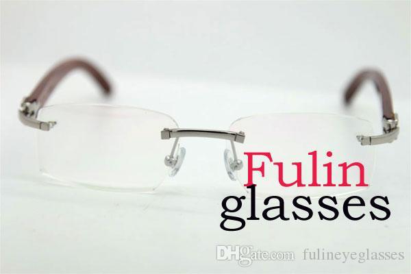 جيد النوعية الصلبة الخشب Vitange تصميم للطي نظارات القراءة مع حالة T8100903 ديكور الخشب إطار نظارات نظارات القيادة الحجم: 54-18-140mm