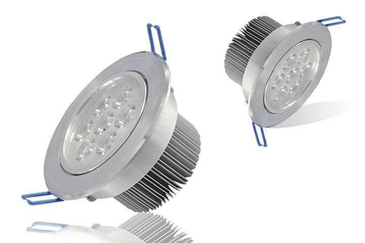 Levou lâmpada de teto 7x3w alta potência de poupança de energia lâmpada de teto iluminação Quente fresco branco levou para baixo de luz levou luzes embutidas 85-265v