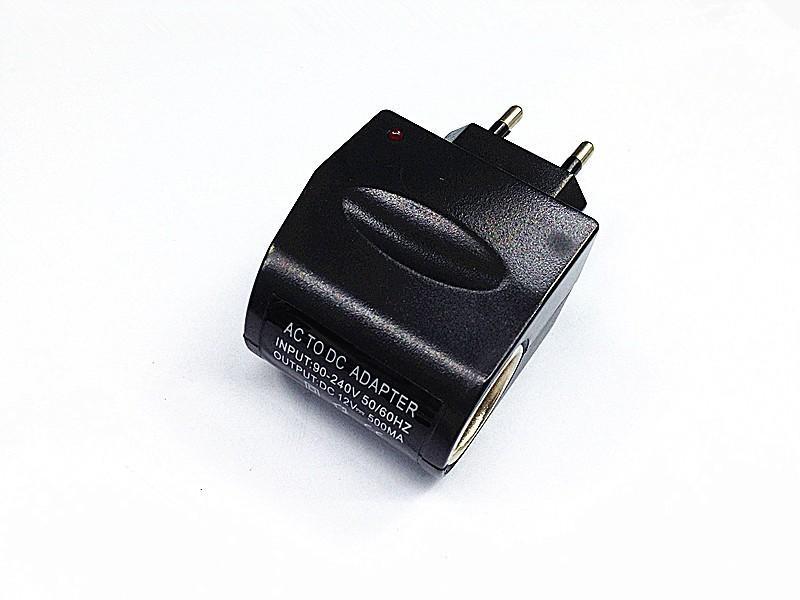 AC do 12 V DC EU Car Adapter Converter