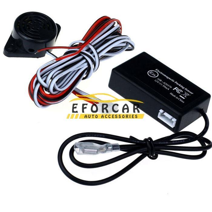 Car Electromagnetic Parking Sensor No Drill No Hole Car Reverse Backup Radar Sensors Backup Parking System