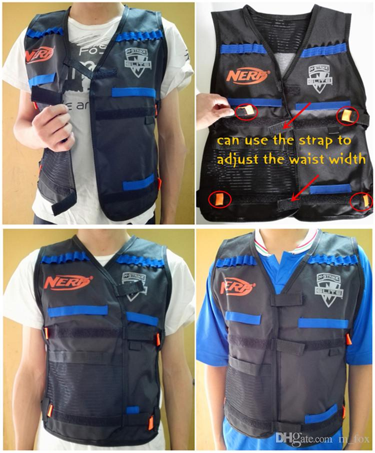 2015 Nerf Tactical Vest Jacket Waistcoat Magazine Ammo Holder For N Strike  Elite Nerf Guns Also Sale Foam Bullets Toy Guns Clip Nerf Darts Organic  Baby Toys ...