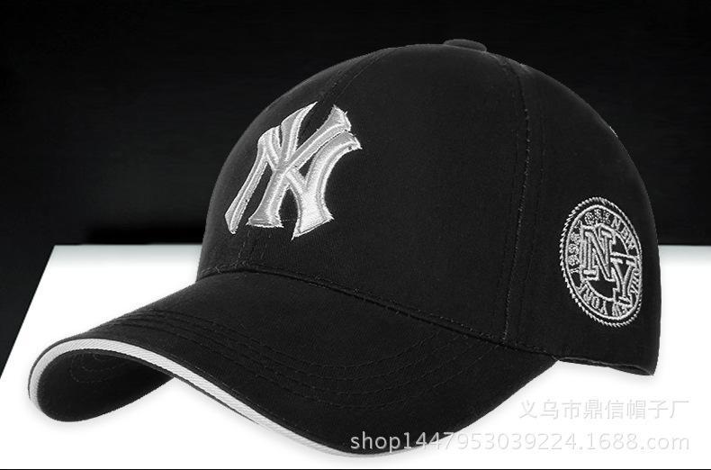a383f3cabd2d30 Snapback Caps Men Ny Baseball Cap Mens Womens Baseball NY Cap Adjustable  Snapback Sport Hip Hop Hat Unisex 17 Brixton Hats Trucker Cap From  Qing1806784574qq ...