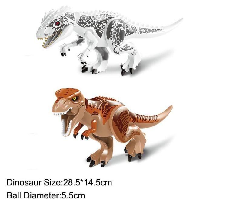 Les dinosaures de bloc Puzzle Briques dinosaures Figures Building Blocks Education Jouets d'enfants pour les enfants cadeau enfants Toy