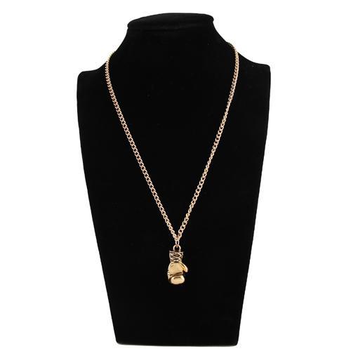 Moda Popüler Takı kolye kolye, Antik altın / gümüş kaplama kadınlar / erkekler boks eldivenleri kolye kolye. NL-2472