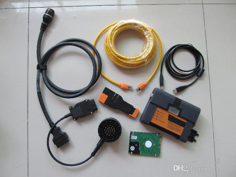 gli strumenti di diagnosi BMW ICOM A2 B C 3in1 con software HDD 500GB 2021 Programmazione diagnostica
