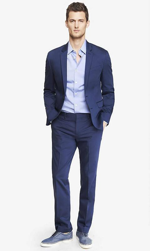 Carefully tailored to the latest fashion and gun collar two grain of a high-end business two-piece men preferred suit suits