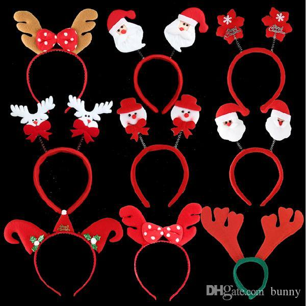 Christmas Party Hats Head Band Decorations Gifts For Children The Must Snowman Deer Father 18th Birthday