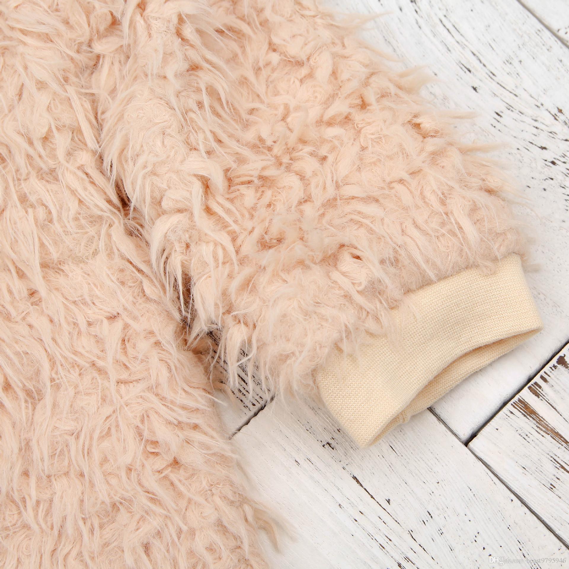 2017 Nouveaux Enfants Froid D'hiver Barboteuse Salopette Vêtements Nouveau-Né Bébé Garçons Filles Coton Rembourré Épais Playsuit Body