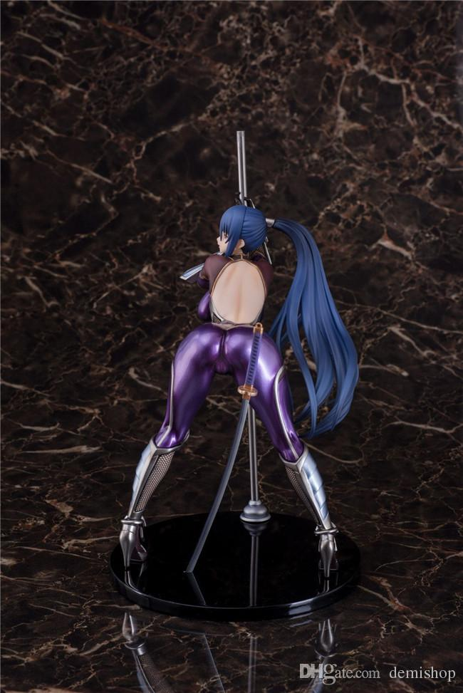Demishop 26cm Anime Action Figure ANOTHER STORY Queen Ted Akiyama Rinko Pole Dancing Ver PVC 1/7 Scale Model Collectible Sexy Toys Doll