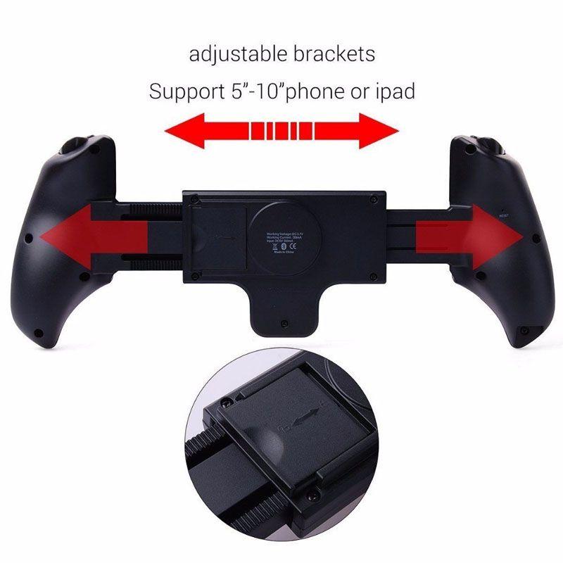 Ipega gp-9023 controlador de jogo sem fio bluetooth joystick gamepad para iphone ipod ipad sistema ios samsung android tablet
