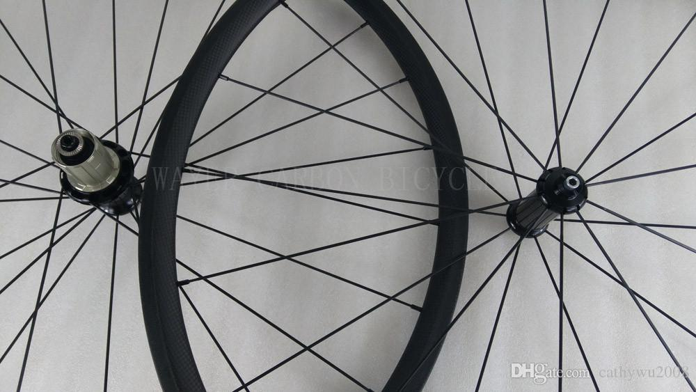 Tubular 24mm carbon road bike wheelset 23mm wide 20/24h front and rear bicycle wheels basalt brake track pillar aero spokes powerway hub