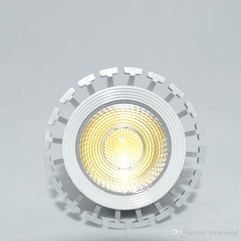 COB Led Spot Işık Lambası E27 MR16 GU5.3 GU10 Led Işıklar 8w Dim 6w Beyaz AC85-265V 12V CE RoHS Soğuk Ilık