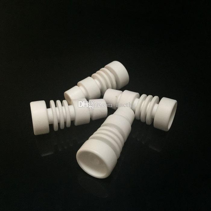 Отличное качество Domeless керамические ногти как 14 мм и 18 мм мужской сустав Керамический гвоздь против Титана гвоздь для стекла Бонг водопроводные трубы