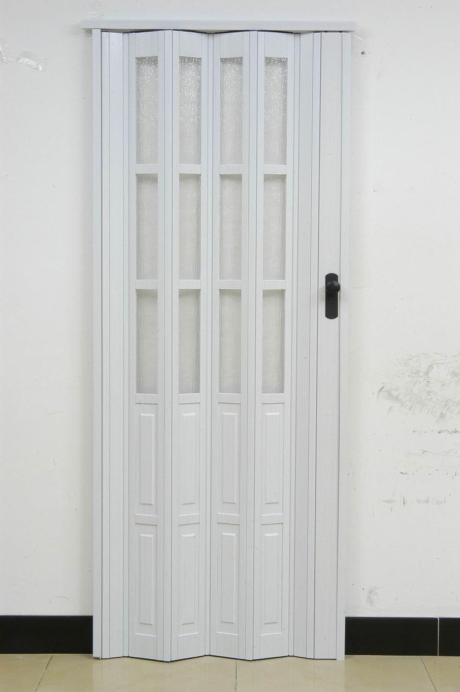 2019 Pvc Folding Door L10 003ps Casual Door Plastic Door