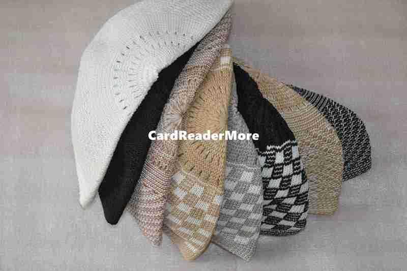 d58bda91108 2019 Wholesale Islamic Turkish Hat Arabic Muslim Prayer Cap Crochet Taqiyah  Tagiya Topi Kufi Caps