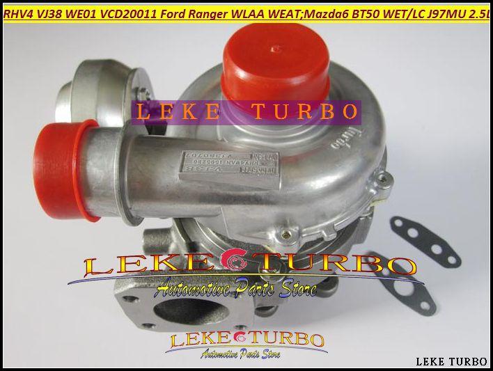 RHV4 VJ38 WE01 WE01F VHD20011 Turbo Turbo Için FORD Ranger WLAA WEAT 2006-2009 MAZDA 6 için 2007-BT50 BT-50 ISLAK WLC J97MU 2.5L 115KW
