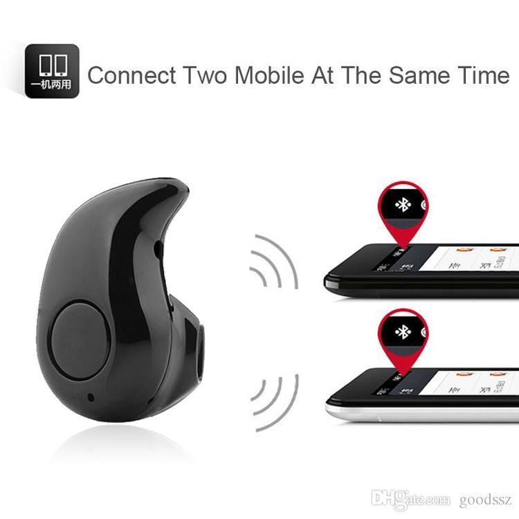 S530 미니 스포츠 트렌디 보이지 않는 이어폰 무선 블루투스 4.0 이어폰 형 헤드폰 스테레오 핸즈프리 헤드셋 모든 폰 w / 박스 용 쿨 스타일