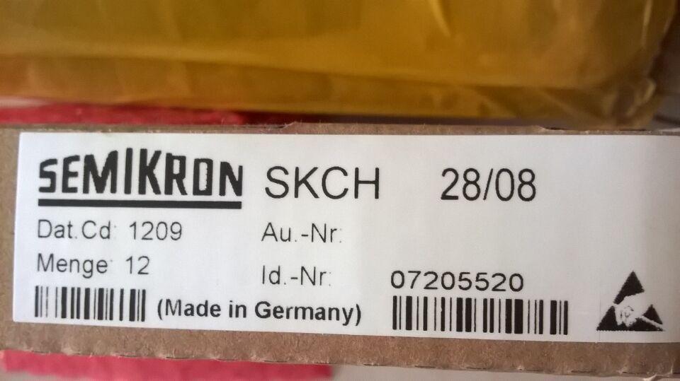 새로운 오리지널 파워 모듈 SEMIKRON SKCH28 / 08