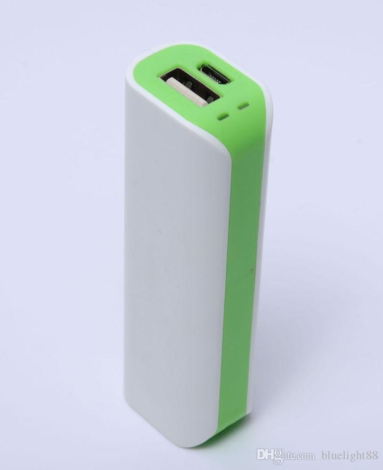 Gros-Nouveau 2600 mAh Romoss usb banque de secours sauvegarde de la batterie rechargeable portable voyage mini powerbank pour iphone 6 5 samsung galaxy S5