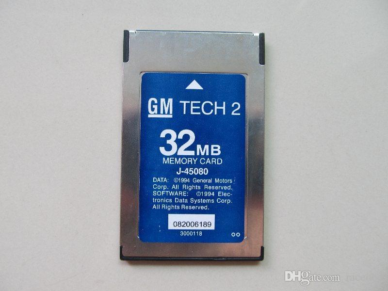 La più recente scheda di memoria di diagnostica Tech 2 32 MB OPEL GM, Holden, ISUZU, Saab, Suzuki 6 Brands to Chhoose