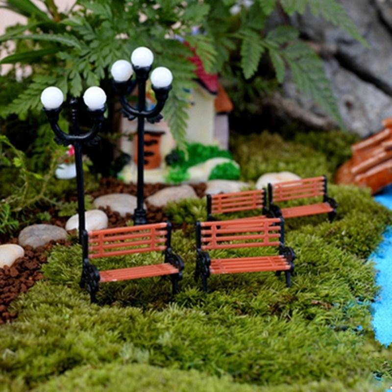 Bridges Fairy Garden Gnome Moss Terrarium Home Decor/crafts/bonsai/bottle  Garden/miniatures/home Table Decor Free Shipping