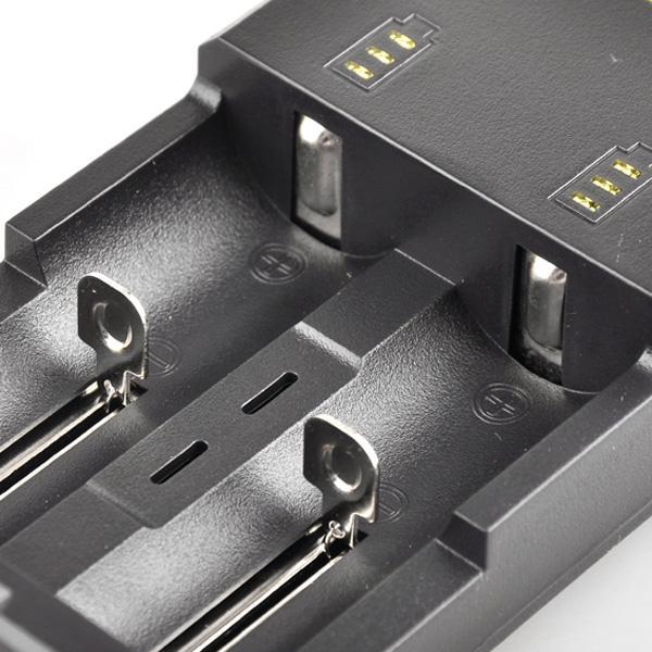 Самое продаваемое универсальное зарядное устройство Nitecore I2 для батареи 16340/18650/14500/26650 США, ЕС, Великобритания, вилка 2 в 1, зарядное устройство Intellicharger