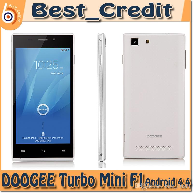 Doogee Turbo Mini F1 Android 4.4 MT6732 Quad-core 4G Mobile Phone w / 4.5