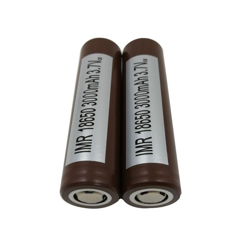 100 ٪ جودة عالية عالية استنزاف HG2 VTC5 25R 18650 بطارية 3000mAh 35A MAX بطاريات ليثيوم قابلة للشحن بطاريات خلايا إل جي
