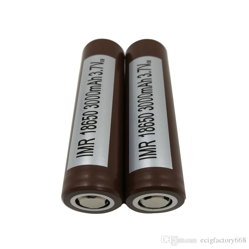 100% Top High Quality for HG2 18650 Battery 3000mah 35A Max Discharge High Drain Batteries 25R VTC5 VTC4 HE2 HE4 Fedex